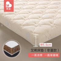 儿童婴儿床床垫棕垫天然椰棕幼儿园宝宝床垫子新生儿冬夏两用定做a418