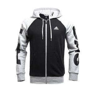 Adidas阿迪达斯 2017新款男子训练系列针织运动休闲夹克外套 BQ7088