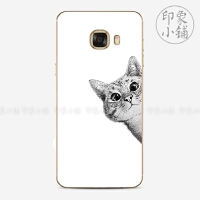 三星s7/s7e/C5/C7/c9pro手机壳保护套情侣猫狗可爱男女手绘萌