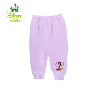 迪士尼Disney秋冬新品新生儿内衣保暖裤男女宝宝两用档裤子154K656