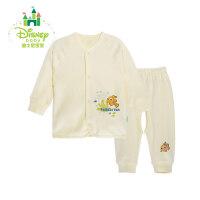 迪士尼Disney 新生儿前开扣内衣男女宝宝纯棉套装153T630