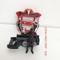 欧布圆环卡片奥特曼变身器玩具套装 圣剑闪光剑 捷德升华器召唤器 +贝利亚约13厘米