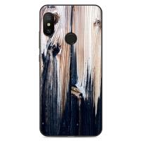 小米手机壳全包软壳Redmi 6pro防摔保护套男款女创意仿木