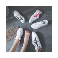 运动鞋女新款内增高韩版百搭休闲鞋女式学生系带小白鞋