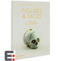 英文珠宝艺术设计书籍 Figures and Faces The Art of Jewelry 人物与脸 珠宝设计画册作品集