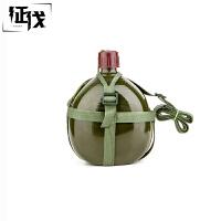 征伐 行军水壶 铝制军训老式2.5L加厚大容量迷彩水壶