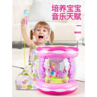 儿童1-3岁宝宝玩具手拍鼓婴儿玩具早教益智旋转木马拍拍鼓音乐鼓