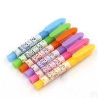 晨光 荧光笔 元气汪AHM25903 六色单头 便签记号笔 标记笔 一盒