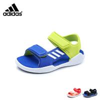 【到手价:259元】阿迪达斯Adidas童鞋18新款凉鞋男女童夏季儿童轻质耐磨沙滩鞋 (5-15岁可选) DB1783