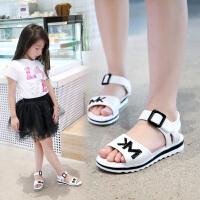 童鞋女童凉鞋夏季中大童小女孩公主鞋儿童凉鞋女童沙滩鞋