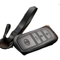适用于丰田新RAV4汉兰达凯美瑞汽车钥匙包雷凌普拉多皇冠钥匙套