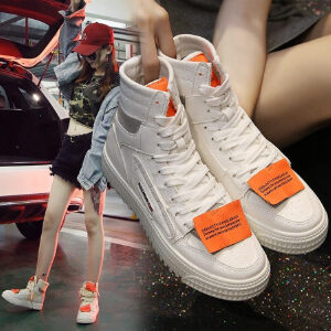 WARORWAR新品YM32-C001冬季韩版平底舒适女士靴子帆布短靴
