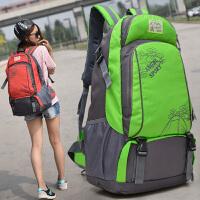旅行背包女轻便大容量双肩包短途出差旅游登山包男士户外运动书包