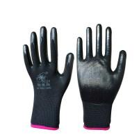 清洁胶皮浸胶家用劳保耐磨工作安全上班橡胶耐防水单面耐用手套。