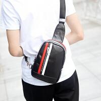 新款韩版潮流休闲斜跨单肩包男士胸包男腰包斜挎包男包包运动小包
