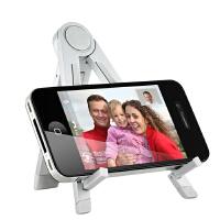 -2/3 iphone5S 4S iPadmini2 iPad4 air平板电脑支架SN 7寸银色 【适合 7寸-10