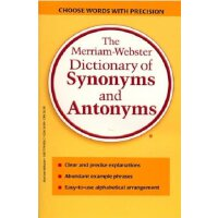 原版工具书 韦氏同反义词典 The Merriam-Webster Dictionary of Synonyms and Antonyms