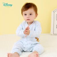 迪士尼Disney童装男女宝宝连体衣秋装新款婴儿保暖内衣新生儿爬服哈衣183L747
