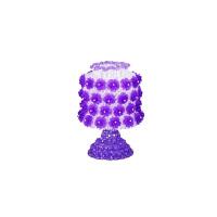 串珠台灯diy材料包牡丹玫瑰花公主摆件客厅珠子编织结婚礼物