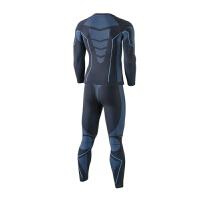 男士户外运动功能内衣排汗速干保暖内衣套
