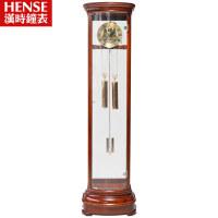 汉时钟表 实木落地钟实木立钟高档花梨木北极星机芯机械钟HG131