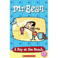 Popcorn Readers: 憨豆先生:海滩一日游(书+CD)Mr Bean: a Day at the Beach