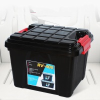 丰田卡罗拉普拉多RAV4威驰锐志汽车收纳箱车载后备箱储物箱整理箱收纳盒车用置物箱
