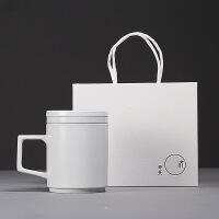 陶瓷茶杯�k公室喝水杯泡茶杯陶瓷杯子分�x�^�V茶杯���w 301-400ml