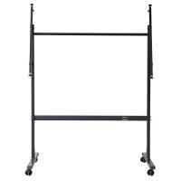 得力7880白板支架 可伸缩白板架 稳固可移动支架 加厚型支架