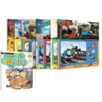 *畅销书籍*正版 托马斯与朋友伴我成长拼图套装8册 托马斯和朋友 小火车少儿童贴纸益智手工游戏书 2-3-6周岁语言学
