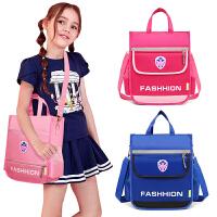 新款补习袋美术袋补课包小学生手提袋拎书袋男童女生儿童书包