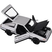 汽车模型小汽车玩具声光回力合金车模型玩具车
