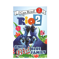 英文原版 Rio 2: One Big Blue Family里约大冒险2:蓝色大家庭