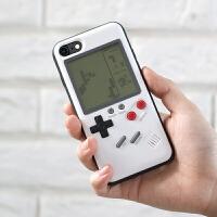 抖音手机 俄罗斯方块游戏机手机壳wanle玩乐iPhone6sp7P抖音苹果X8潮牌 iPhone X 新品 黑色