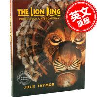 现货 狮子王 英文原版 The Lion King: Pride Rock on Broadway 百老汇音乐剧艺术集画