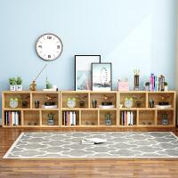 【限时7折】简易书架置物落地简约实木客厅儿童小书柜子桌面上收纳学生