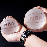 水晶篮球足球创意摆件定制刻字生日礼物家居装饰品送男友女生