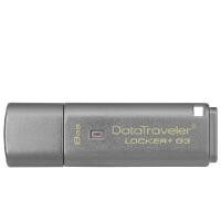 Kingston金士顿 8GB U盘 DTLPG3 8G加密u盘 256位AES硬加密优盘 8G USB3.0