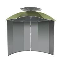 20180428181344030钓鱼伞户外2.2米万向围裙布折叠垂防晒风雨遮阳渔具用品