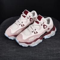 雪地靴 女士纯色轻便耐磨雪地靴2020秋冬新款女式增高防滑休闲运动鞋