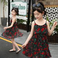 童装女童连衣裙夏装新款儿童夏季洋气吊带裙子大童时尚公主裙