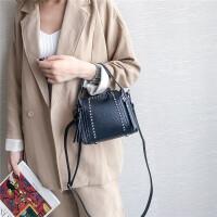 女包2018新款潮时尚百搭小包包斜挎包女迷你包水桶包单肩包手提包