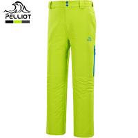 法国PELLIOT/伯希和 滑雪裤男 秋冬户外登山冲锋裤防水透气修身滑雪裤