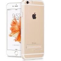浩酷 iPhone6P手机壳透明手机支架硅胶 苹果6sp保护套5.5寸i6PLUS