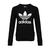 Adidas阿迪达斯 女装 2017新款三叶草运动卫衣套头衫 BP9490