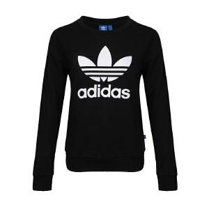 Adidas阿迪达斯 女装  三叶草运动卫衣套头衫 BP9490
