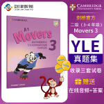 Cambridge English Movers 3级别剑桥少儿英语YLE二级模拟考试真题集 英语原版进口剑桥官方认证