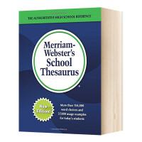 韦氏学生同义词辞典 英文原版 Merriam-Webster's School Thesaurus 英文版字典词典工具书