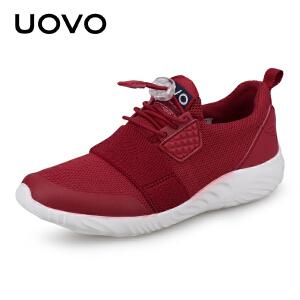 【每满100立减50】 UOVO儿童运动鞋男童运动鞋网鞋透气网面女童运动鞋2018新款夏季韩版潮 日喀则2新