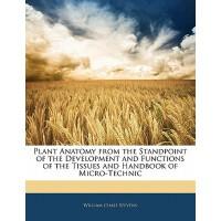 【预订】Plant Anatomy from the Standpoint of the Development an